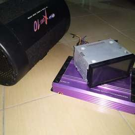 Paket Audio Mobil Innova Head unit + Power Sansui + Speaker