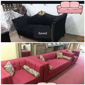 Classic brand new design in city' sofa