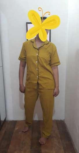 Baju Tidur/Piyama Katun Jepang