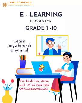 Book Your Free Demo | Trial Class | Online Maths Classes | Learnowaves