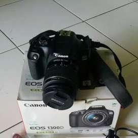 Canon 1300d fullset bonus tas