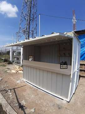 Booth Semi Container / Rombong Semi Container