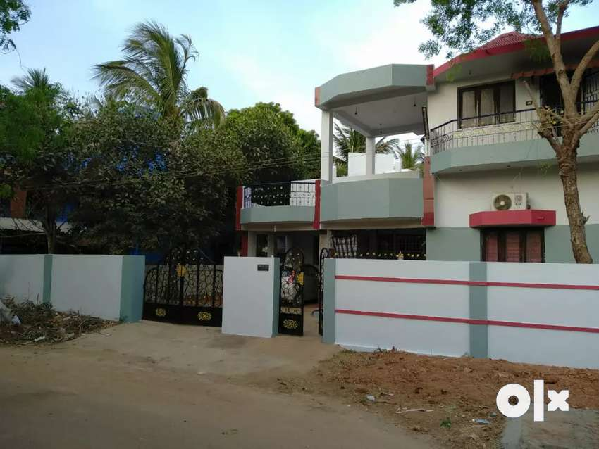 Individual corner house with CCP and borewell In Thanjavur 0