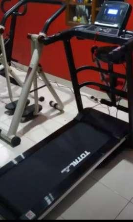 6 fungsi treadmill elektrik homegrand bugul
