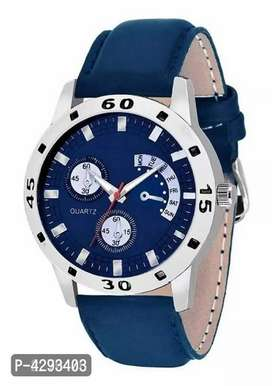 Blue Dial Watch For Men And Women