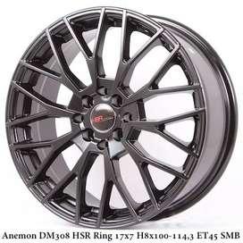 Hsr Wheel Anemon Ring17X7 H8X100/1143 Et45 Smb R