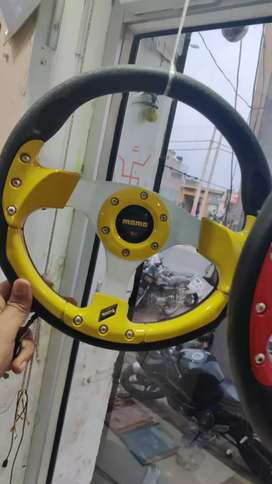 Momo steering wheel available
