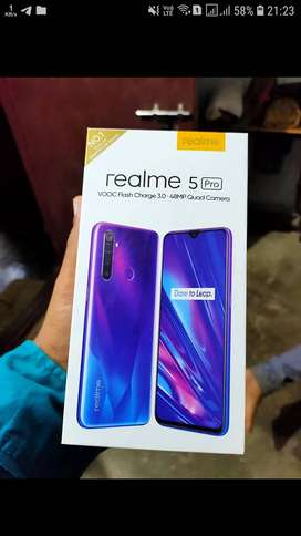 new real me  5 pro   4/64