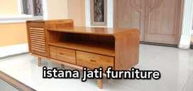 Bufet retro ( meja bufet klasik ) bahan kayu jati berkualitas