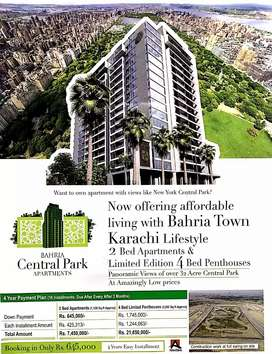 Get Huge Discount in New Central Park View Apartment's