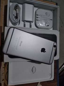 iPhone 6 64Gb Space Grey, mulus istimewa