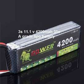 Lipo batteries for quadcopter drones or rc planes available pakistan