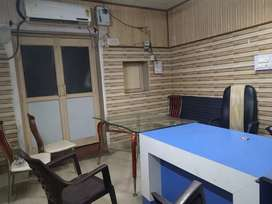 Space for office fully a/c on main road location