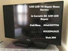 LCD  LED Repair  Home Service in karachi