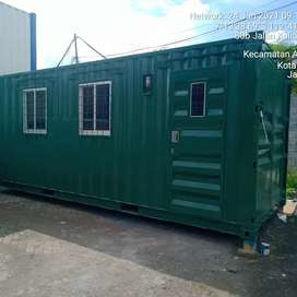 Container Kontainer Modifikasi Kantor, Cafe