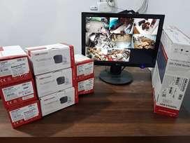 #Paket CCTV full Hd 2MP KOMPLIT dengan hasil sangat cerah dan bening#