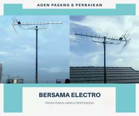 Ahli Agen Pemasangan Sinyal Antena TV Murah