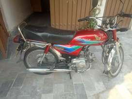 Honda cd 70 red