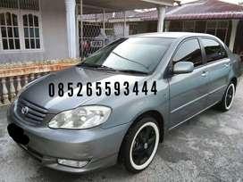 Toyota Altis Manual 2001 plat pekanbaru pajak baru perpanjang