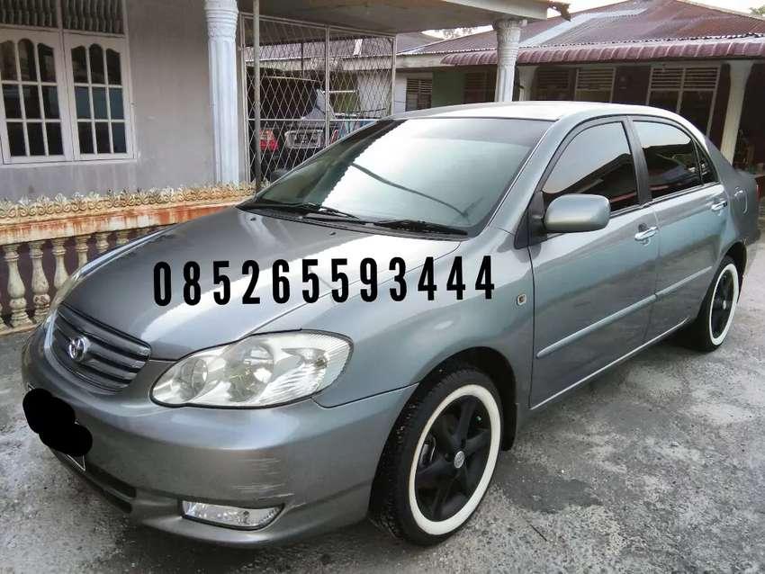 Toyota Altis Manual 2001 plat pekanbaru pajak baru perpanjang 0