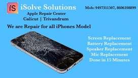 Apple iPhones Repair Center