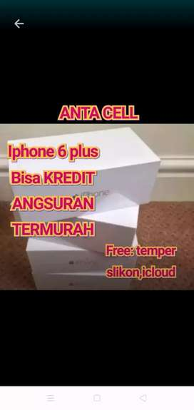 Iphone 6 plus 64gb bisa kredit Bunga 0%
