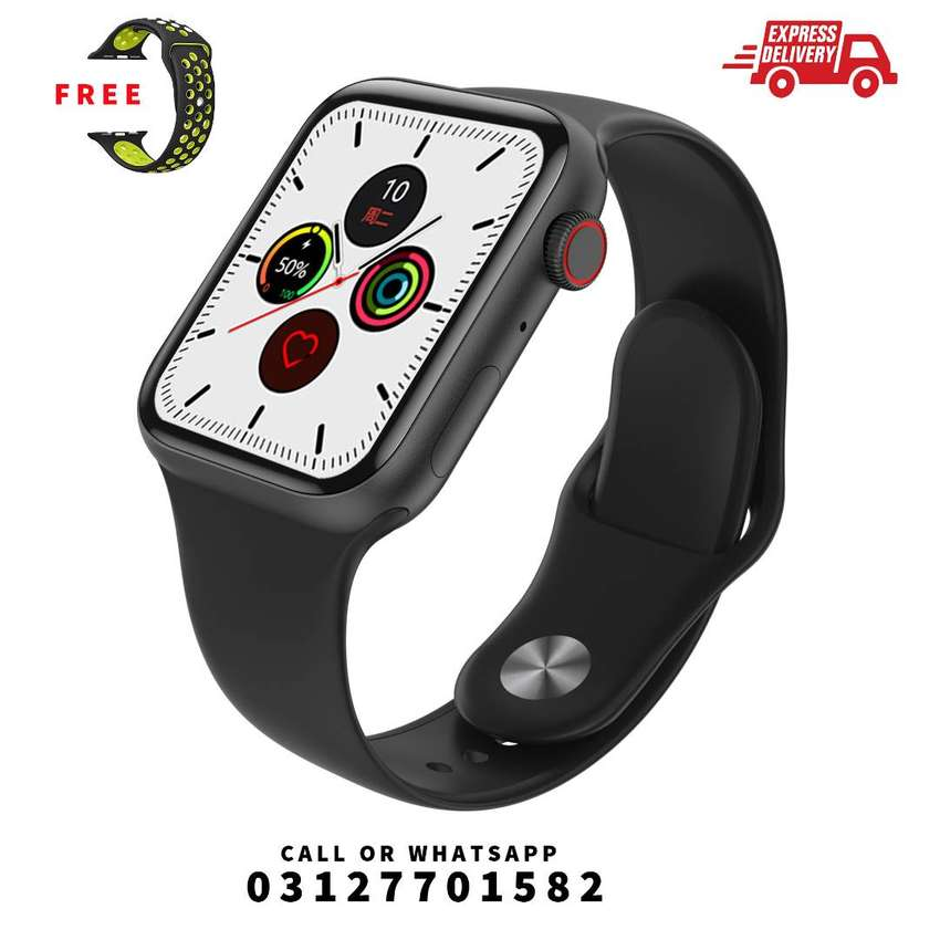T500 Plus Smart Watch Bluetooth Call with Extra Strap 0