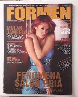 Majalah formen cover mulan jameela plus poster mulan masih nempel