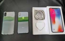 Iphone X 64gb fullset mulus 3utools hijau