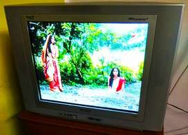 Philips 21 inches flat TV eye-fi in best condition with optional stand