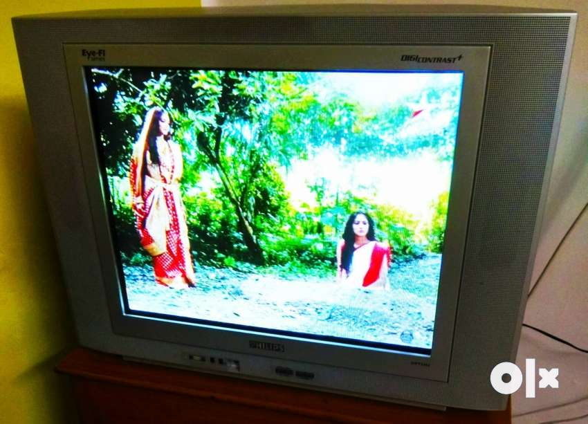 Philips 21 inches flat TV eye-fi in best condition with optional stand 0