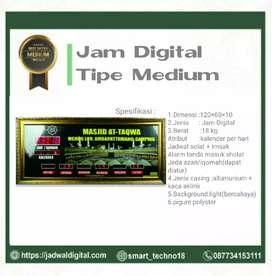 Sedia Jam Digital Tipe Medium