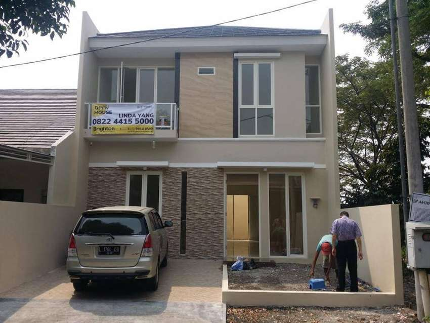 Dijual rumah baru 2 lantai interior mewah di Bukit Palma Citraland 0