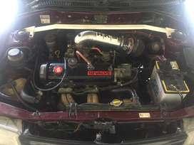 Jual starlet 1.3 turbolook tahun 1996