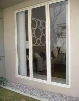 Pemasangan pintu jendela aluminium murah