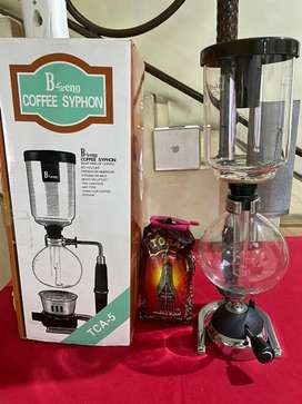 Japanese style Bseng coffee syphon