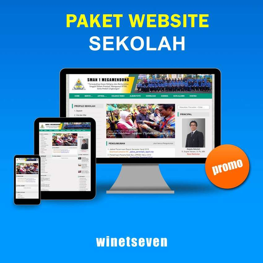 Jasa Pembuatan Website Sekolah 0