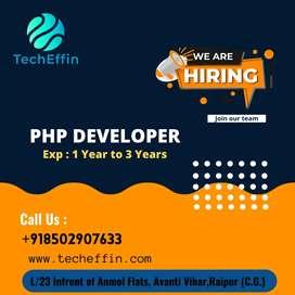 Need a PHP Developer