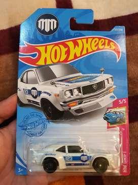 Hotwheels mazda rx3 super treasure hunt