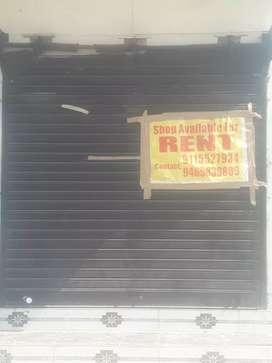 Front shop on rent multipurpose