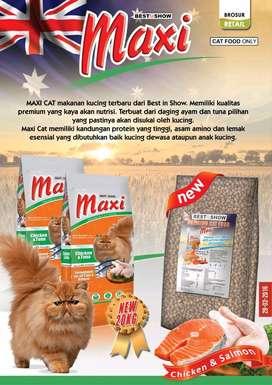 ' Maxi ' Makanan Kucing Premium