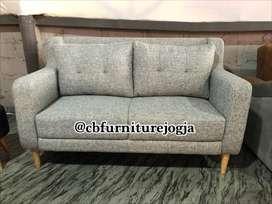 sofa tamu model Bantal besar dakron
