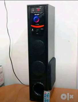 New pack piece single Tower with Bluetooth aux Fm radio and many more