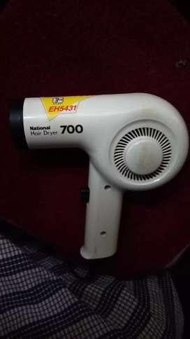 National 700watt hair dryer EH5431