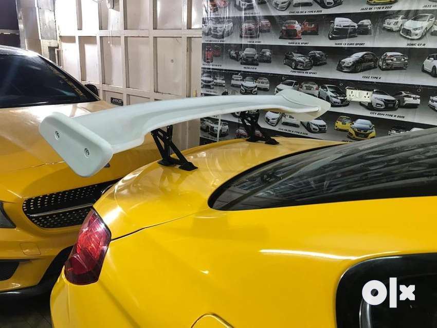universal wing sports spoiler in abs material 0