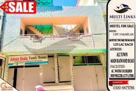 HOSTEL FOR SALE IN RUNNING CONDITION