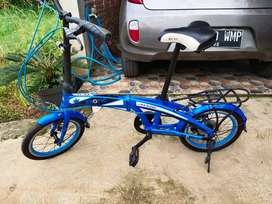 Sepeda lipat EXOTIC 2026 MK 16 inch 7 speed .joss