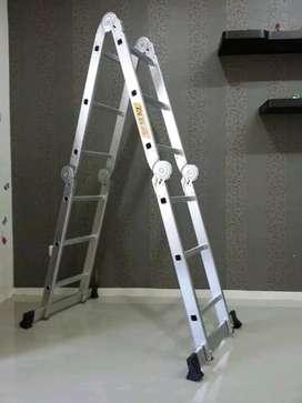 Promo tangga lipat multifungsi, tangga alumunium mulyifungsi