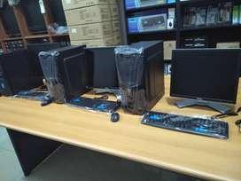 Komputer Pc lengkap Dengan Lcd Full set Siap pakai Termurah kuality OK
