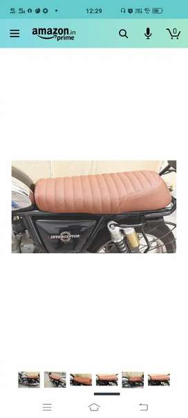 Royal Enfield interceptor Seat cover used  5 month old